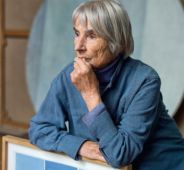 Geneviève Asse. Libre entre mer et ciel