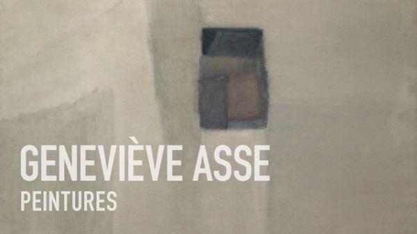 Geneviève Asse, peintures