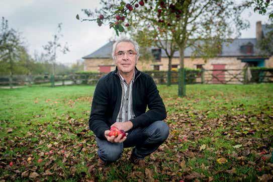 Jean-Luc Maillard, gentleman-farmer