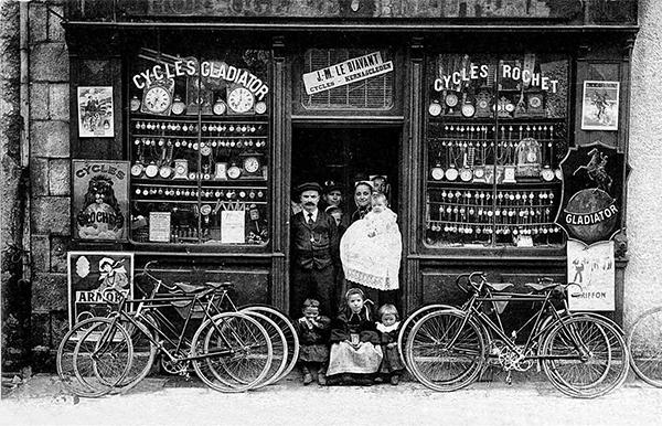 Premières explorations de la Bretagne à vélo