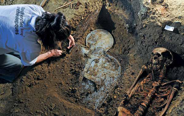L'autopsie d'une dame de coeur