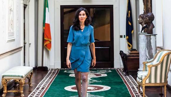 Aziliz Gouez, une plume présidentielle