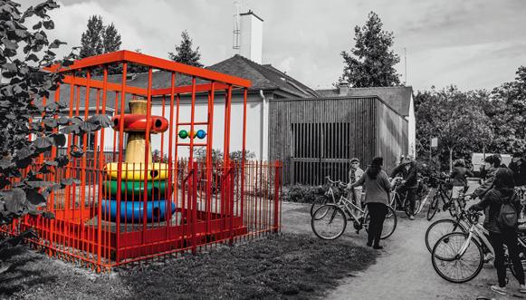 L'art contemporain à portée de bicyclette