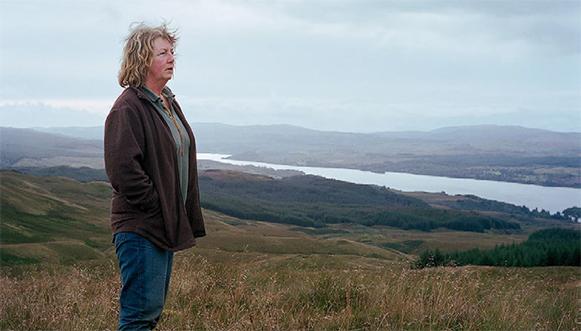 Éleveuses de moutons en Écosse