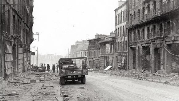 Brest et Lorient sous les bombes