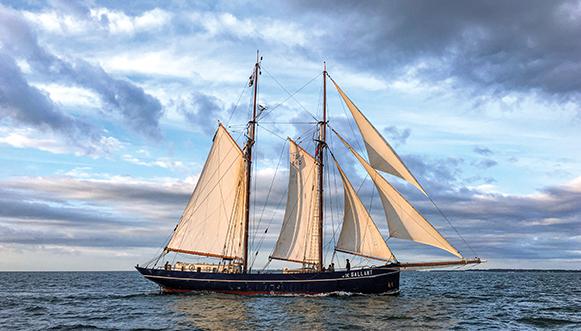 Le transport maritime propre, avec vents et marées