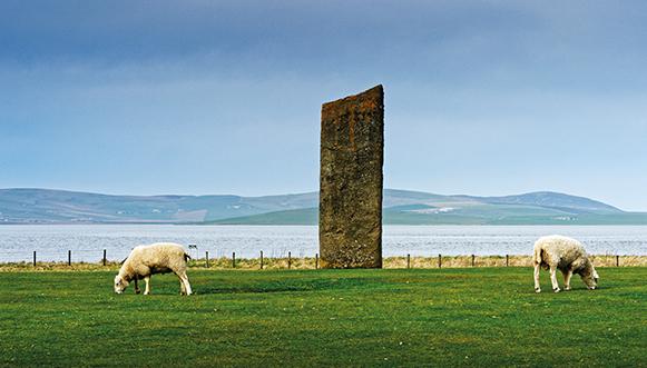 Une semaine dans les Orcades, Écosse