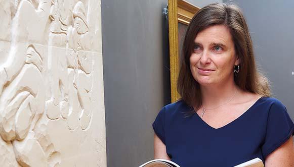 Sophie Kervran, conservatrice des musées de Pont-Aven et Concarneau