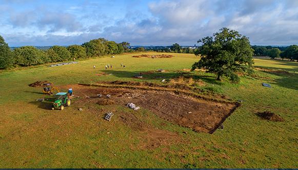 Le cairn néolithique de Goassec'h à Carhaix Un site aussi important qu'imposant