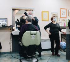 La dernière coupe, ferleture du salon de coiffure historique du Faouët.